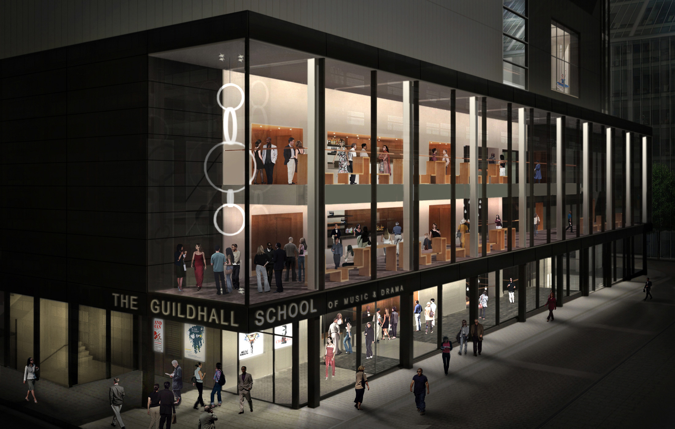 Guildhall School of Music - CGI