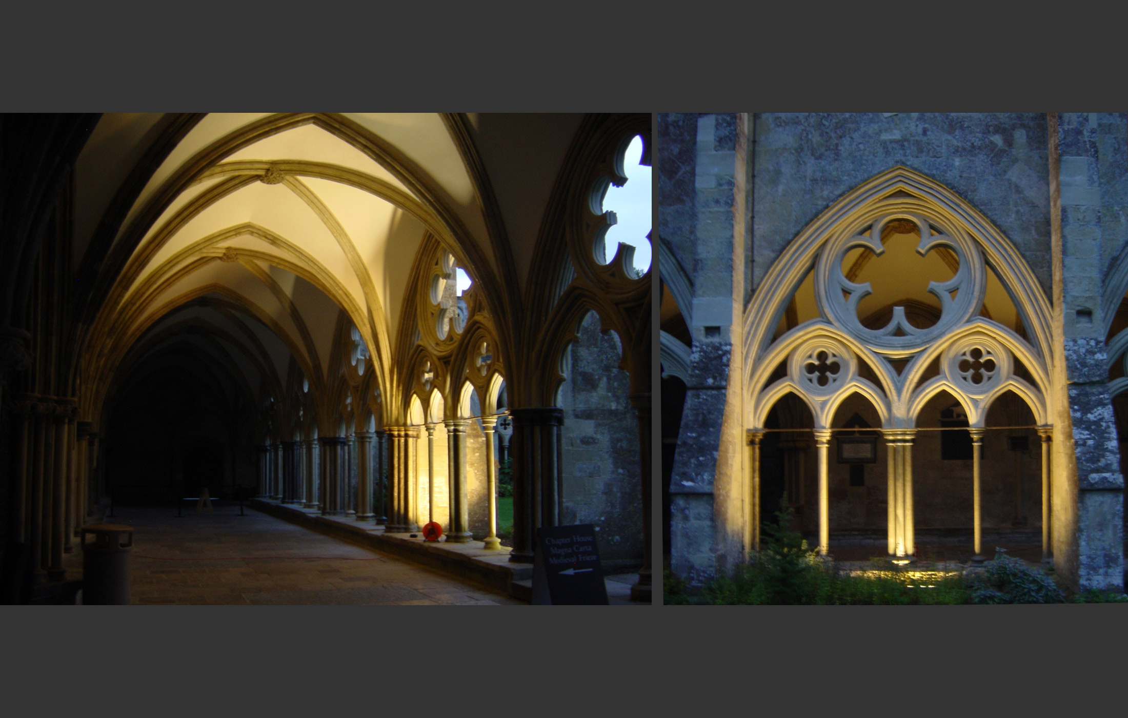 Salisbury Cathedral - Lighting Trial
