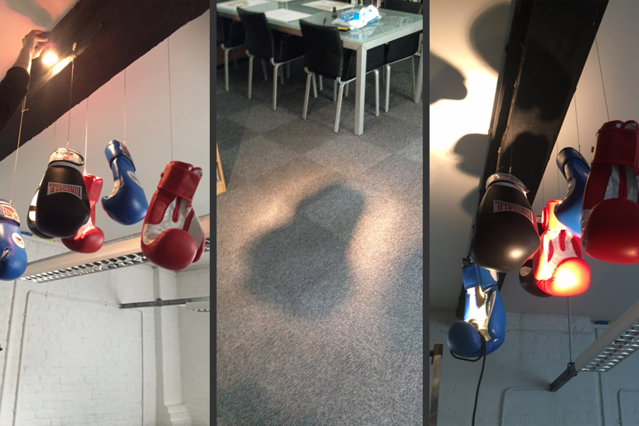 Boxing Glove - Up and Down Lighting Effects
